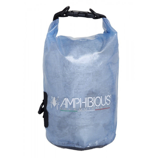 Amphibious Trasparent Dry Tube 10LT - Blue