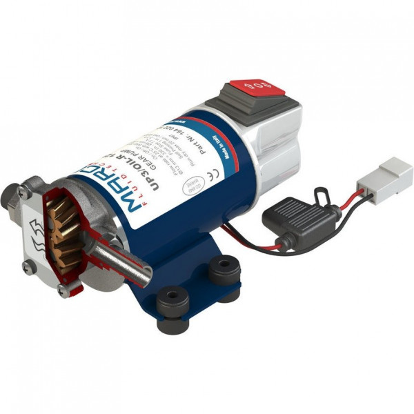 UP3/OIL-R Revers. pump lubricating oil + integr.on/off switch