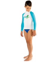 Cressi Rash Guard Long Junior Blue Octopus