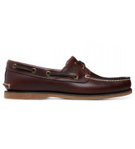 Timberland Classic Boat 2 Eye Rootbeer Smooth - 15/USA