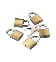Kit 5 Padlock unique Key