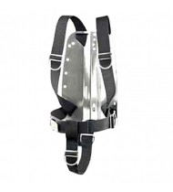 Divemarine Stainless Steel Backplate with Complete Harness