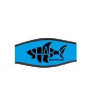 Best Divers Neoprene Mask Strap Cyan
