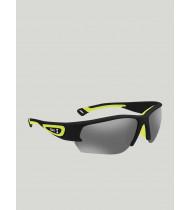 Slam Racer Sunglasses - Black/Lime/Smoke