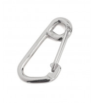 Divemarine Stainless Steel Spring Hook with Thimble 80mm