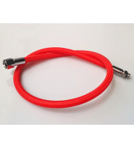 BDK Regulator Hose Soft Fluo - Red 80cm