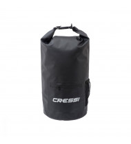 Cressi Dry Bag Black with Zip 20lt