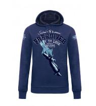 Sweatshirt Freediver Man - Dark Blue - S