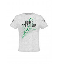 T-shirt Homo Delphinus Man Grey - S