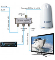 Scout Wave TV Antenna 11cm