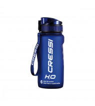 Cressi Water Bottle H2O Frosted 600ml Blue