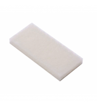Deckmate White Scrubpads Light Abrasion